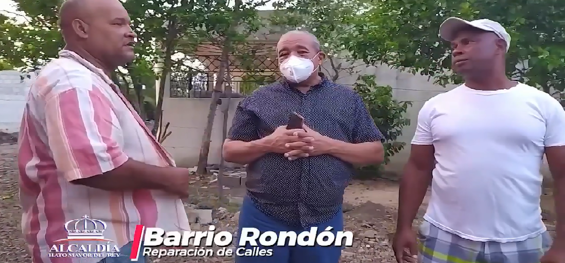 REPARACION DE LAS CALLES EN EL SECTOR EL RONDON